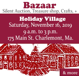 Holiday Bazaar Nov. 16, 2019 at Charlemont Federated Church - find out more